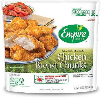 Breaded Chicken Breast Chunks