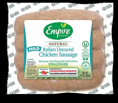 Uncured Mild Italian Chicken Sausage