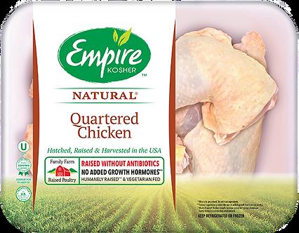 Quartered Chicken