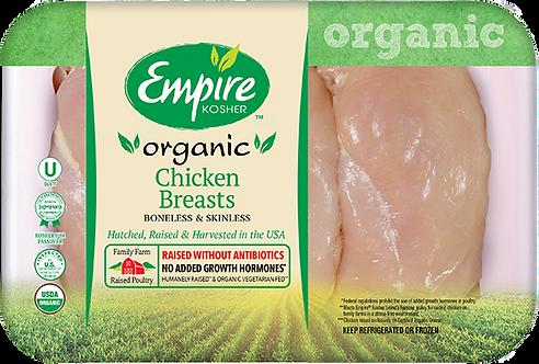 Organic Boneless Skinless Chicken Breasts