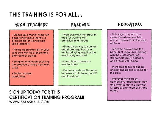 Karma Kids Yoga Teacher Training Program