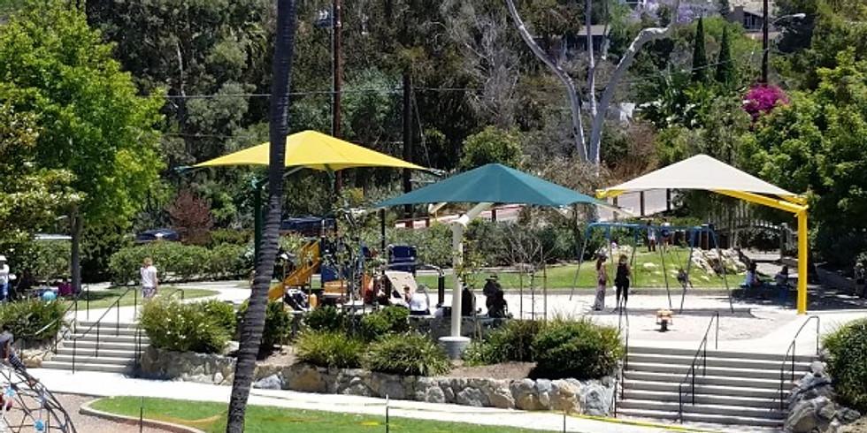 Family Yoga at Bluebird Park