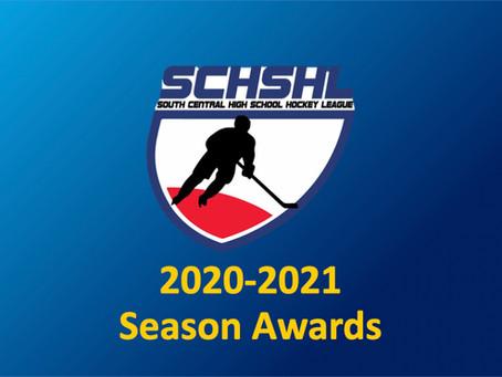 SCHSHL 2020-2021 Awards