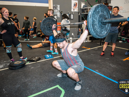 Monday, August 30th, 2021 WOD
