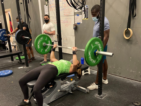 Friday, August 20th, 2021 WOD