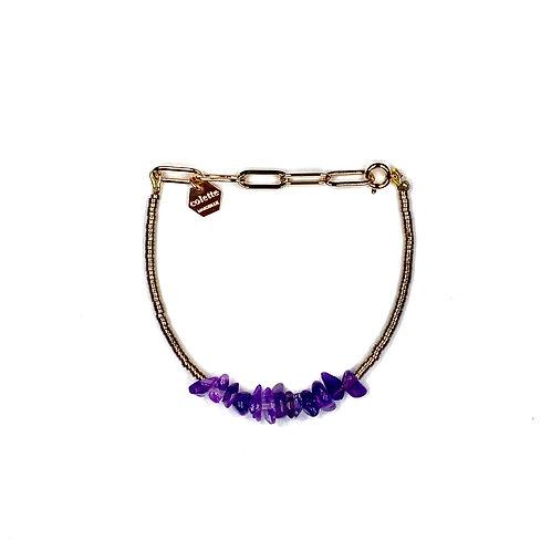"Bracelet ""Saména"" Améthyste"