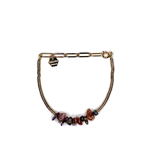 "Bracelet ""Saména"" Tourmaline"