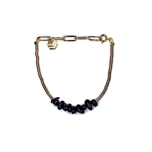 "Bracelet ""Saména"" Onyx"