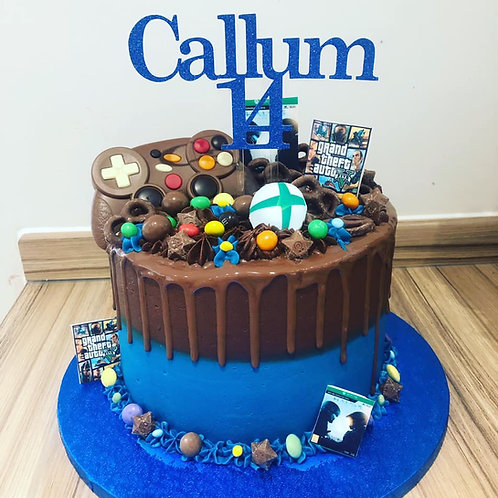 Games Console Cake