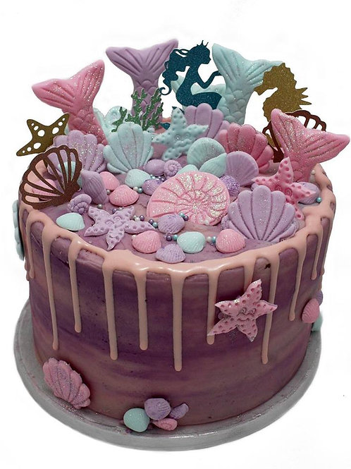 Mythical Mermaid Cake
