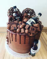 Chocolate Alcohol Cake