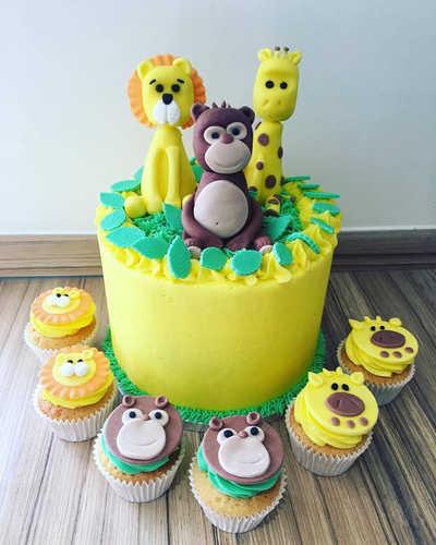 Children's Animal Cake