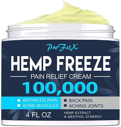 ProFitX Hemp Pain Relief Cream