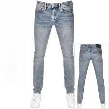Calvin Klein Jeans Slim Taper Jeans Blue