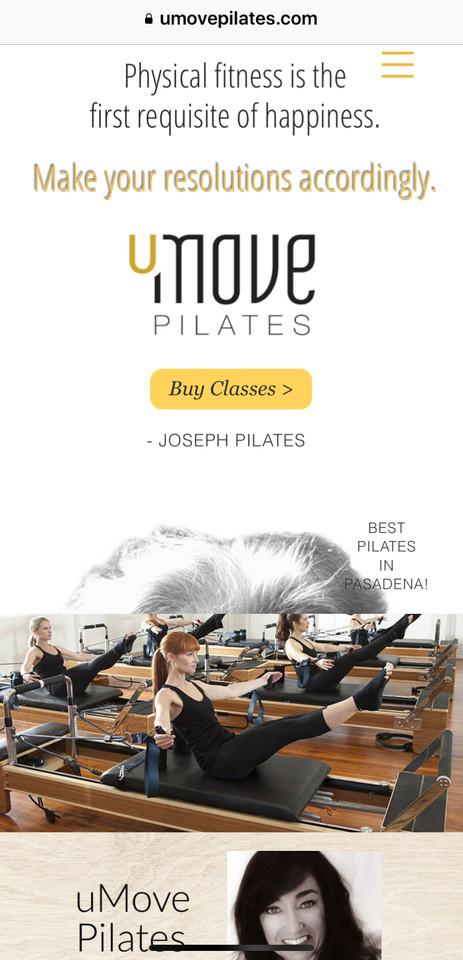 uMove Pilates in Pasadena, CA