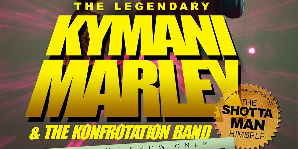 The Legendary Kymani Marley & The Konfrotation Band