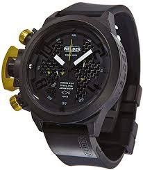 Welder by U-Boat K24 Chronograph Black Ion-Plated Steel Mens Watch