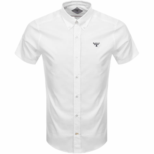 Barbour Beacon Short Sleeve White Shirt