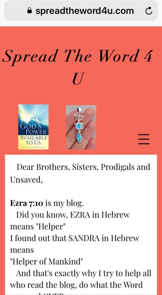 Chrisitian Blog