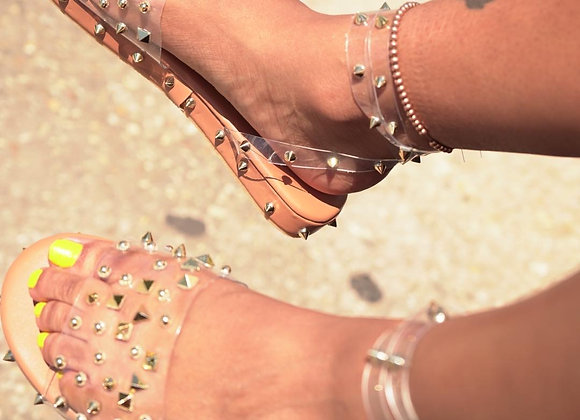 NUDE STUDDED OUT