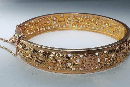 10Karat Yellow Gold Bangle Bracelet
