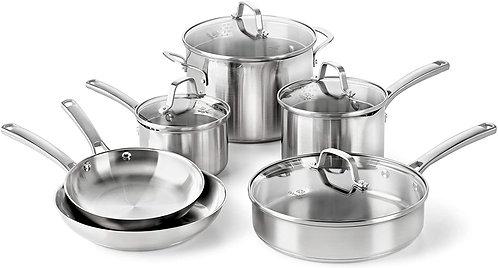 Calphalon 10-Pc. Cookware Set