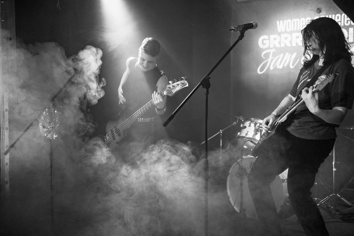 GRRRL-NOISY vol. 4 by Chux On Tour Photography