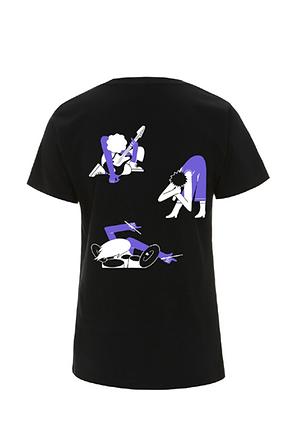 Shirt Black Back