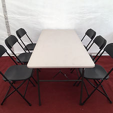 Table and Chairs Hire