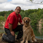 Handler Chris & K9 Aspen