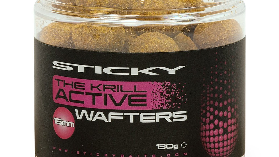 Sticky Baits The Krill Active Wafters 16mm