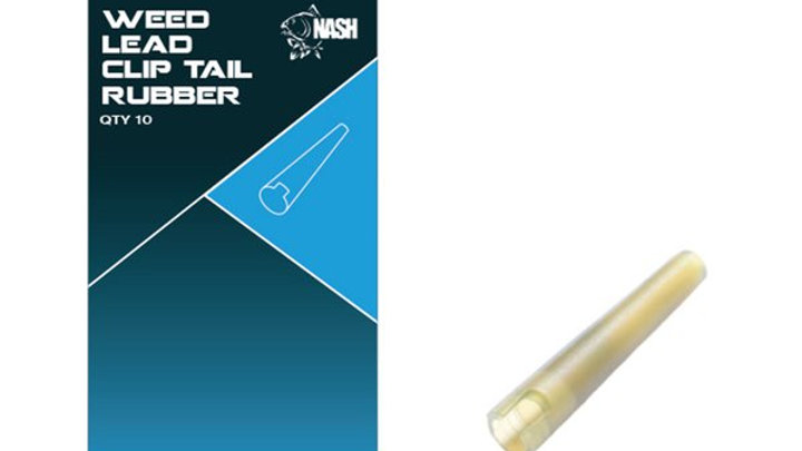 Nash Lead Clip Tail Rubber. (Weed)
