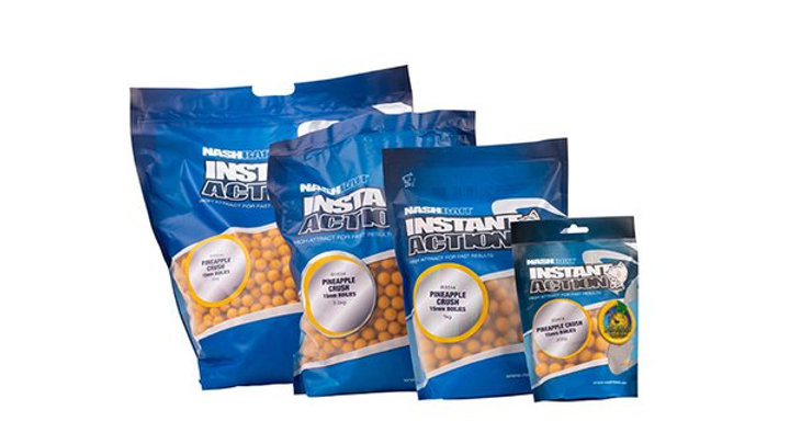 Nash Baits Instant action pineapple crush boilies 15mm 1kg