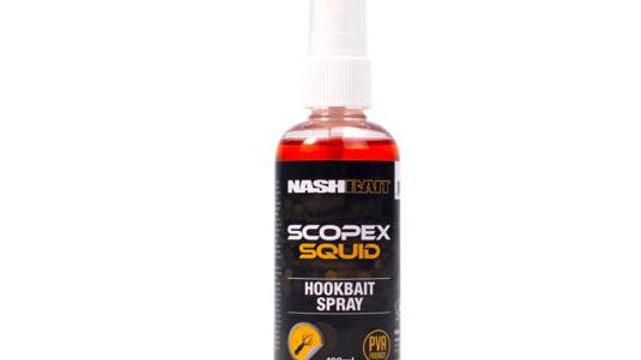 Scopex squid bait spray
