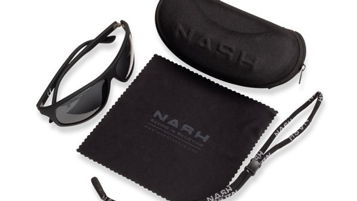 Nash Black Wraps (grey lens)