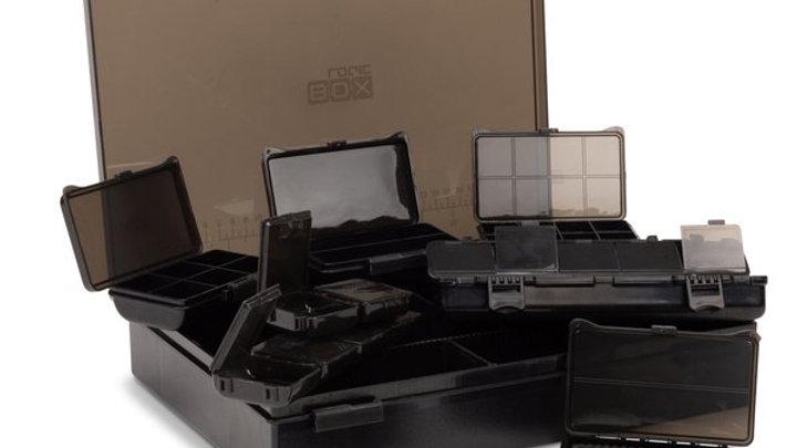 Nash box logic tackle box fully loaded. medium and large.