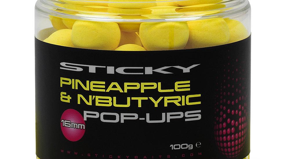 Sticky Baits Pineapple & N'Butyric Pop Ups