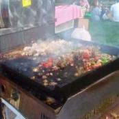 Street Meat Grilling