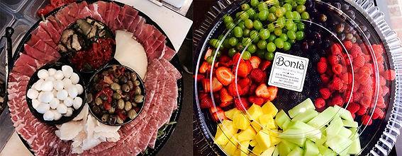 Bonta Market's Catering Plates
