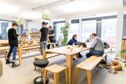 Open-Space im Coworking-M1