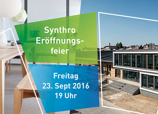 Eröffnungsfeier der Synthro eG