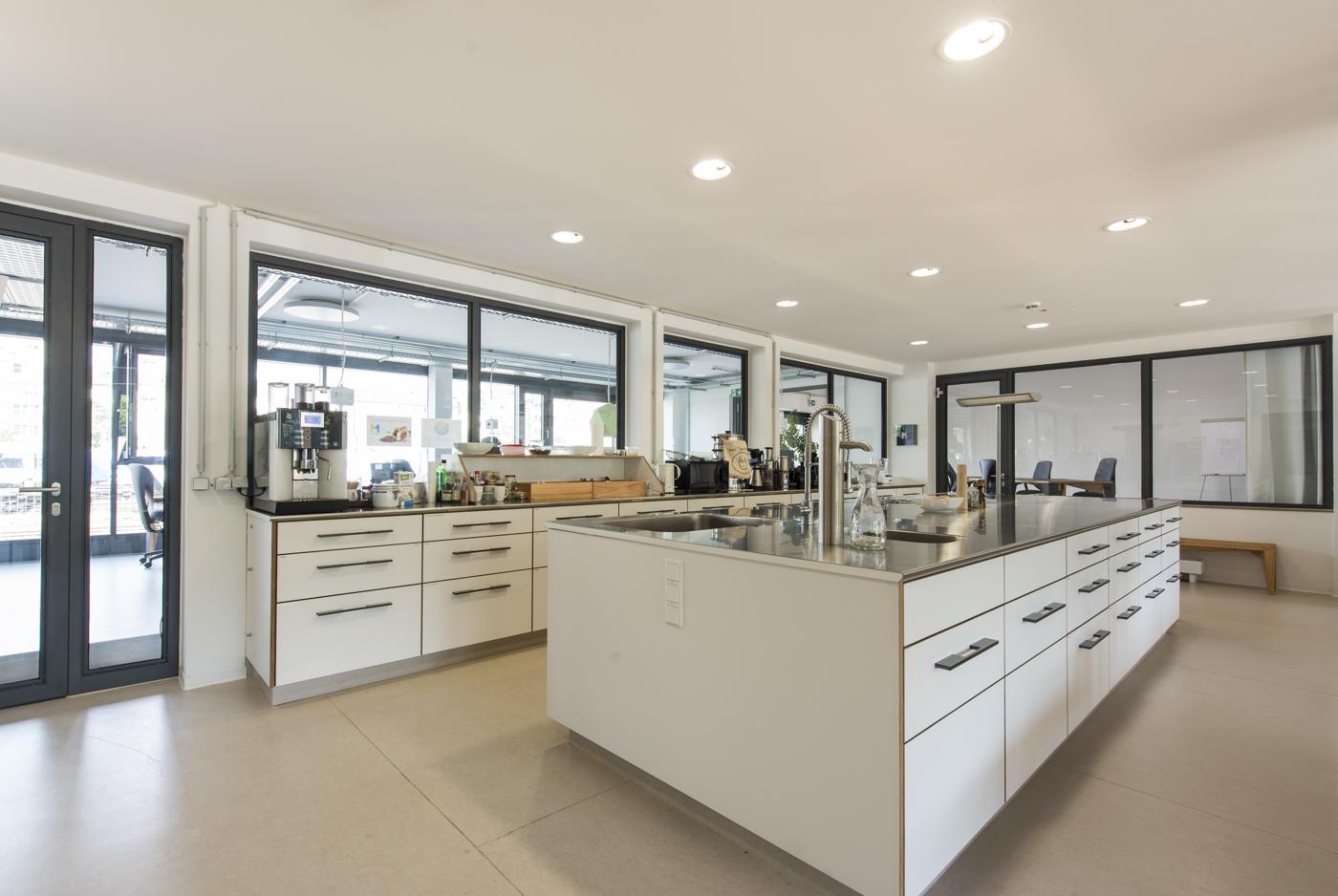 Coworking-M1 Küche
