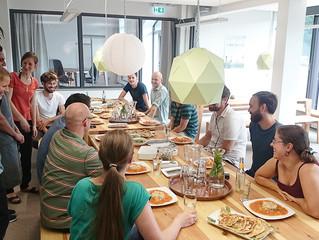 Videodreh mit Social Streetfood im Coworking-M1