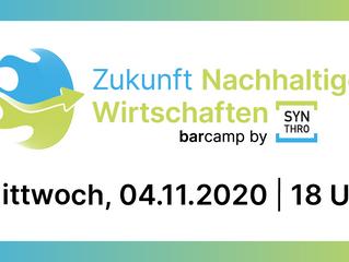 Synthro Barcamp - Nachhaltiges Wirtschaften