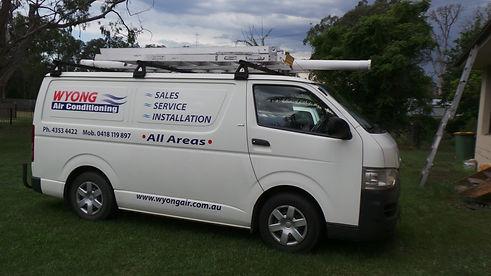 wyongair company van