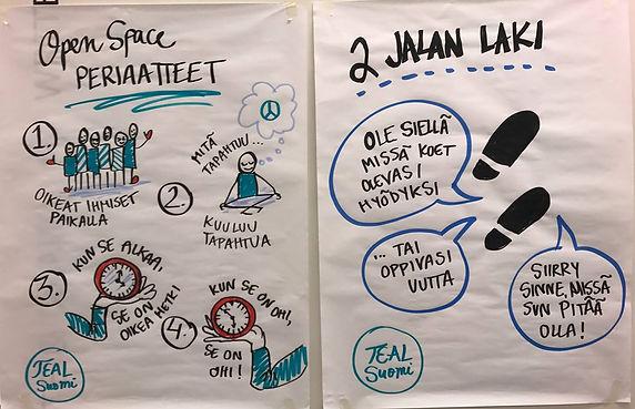 Open Space periaatteet ja laki