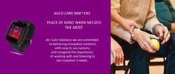 Web Aged Care Holding hands main page