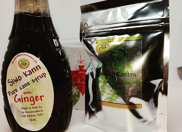 Tea & Siwo Kann Jenjanm Combo