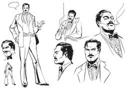 Character design Norman Khoury