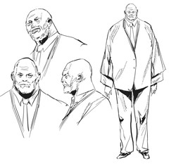 Character design Akinari Kijin